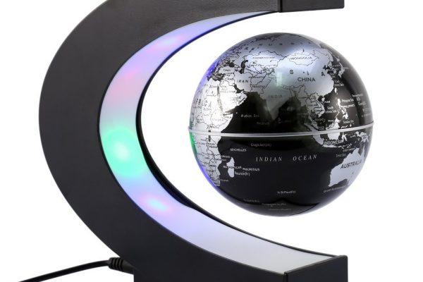 schwebender Globus - Geschenkidee für den Mann