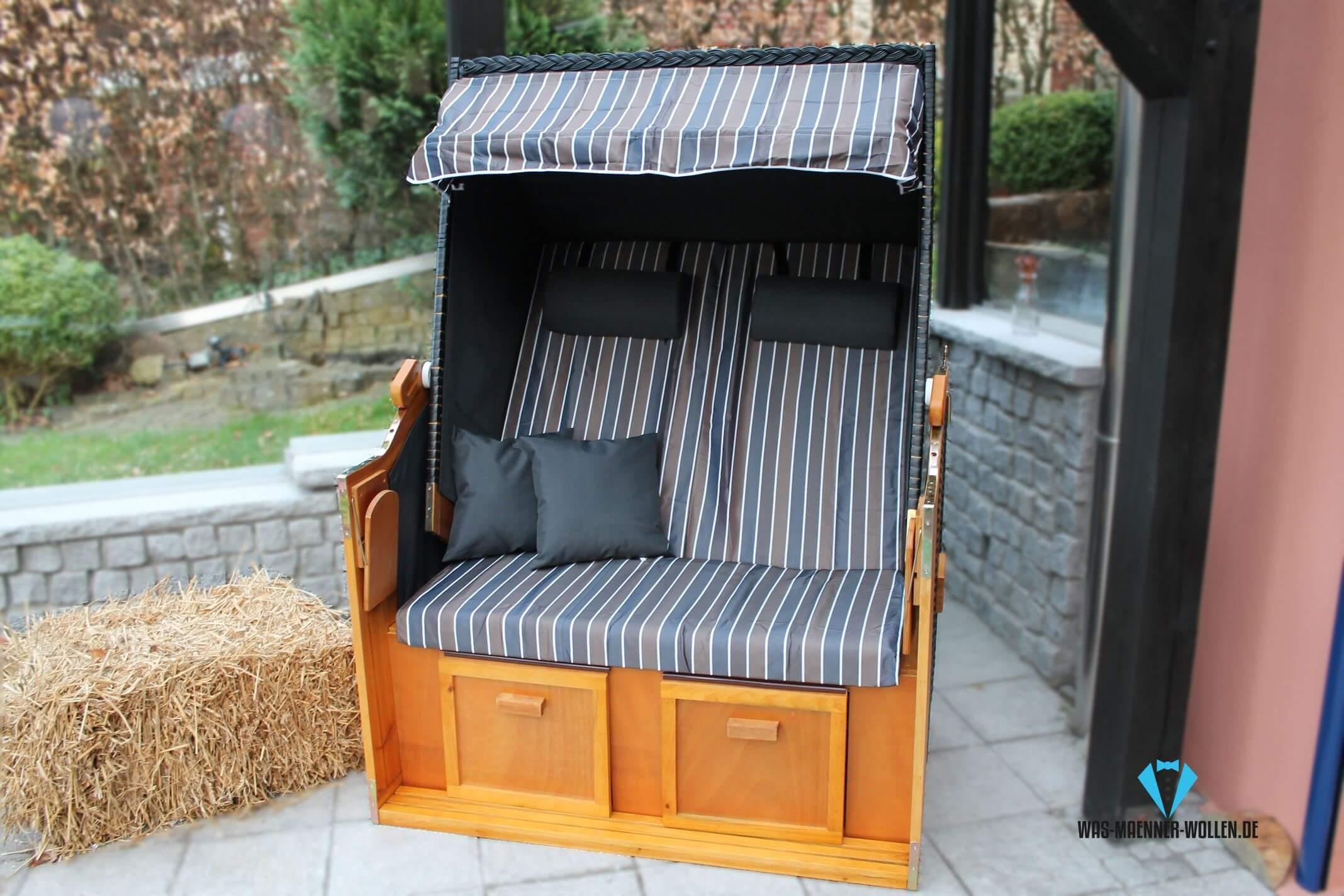 ostsee strandkorb strandfeeling zu hause genie en auf was maenner. Black Bedroom Furniture Sets. Home Design Ideas