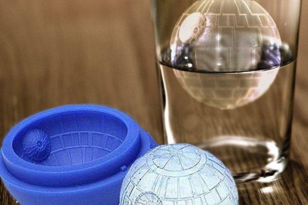 Star-Wars Todesstern Eiskugel Eiswürfel Eiskugel Form aus Silikon Geek-Geschenk für Star Wars Fans