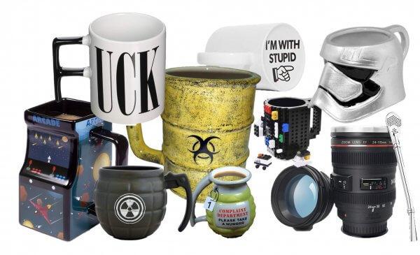 Titelbild besonderer Kaffeebecher Lustige Tassen - coole ausgefallene witzige außergewöhnliche Bürotasse