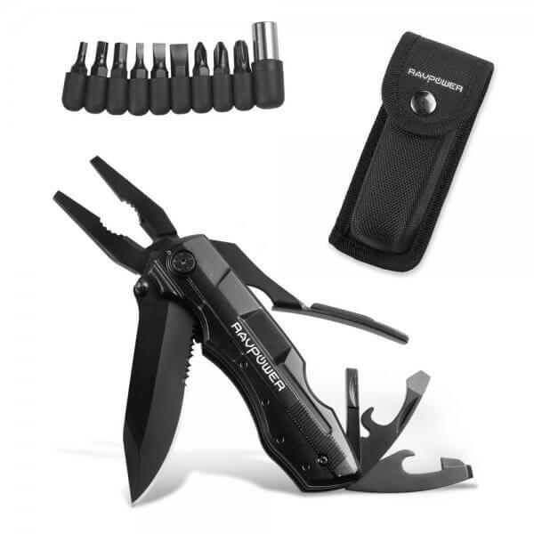 5 in 1 Multifunktions-Tool Multifunktionstaschenwerkzeug für Wanderungen und Campingausflügen