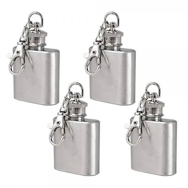 Flachmann Schlüsselanhänger Für die Männer die kein Problem damit haben ihren Flachmann auch in der Öffentlichkeit zu präsentieren