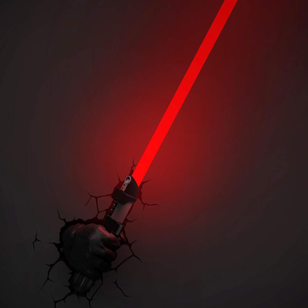 Star Wars 3D Wandleuchten – Ein Eigenleben! » was-maenner-wollen.de
