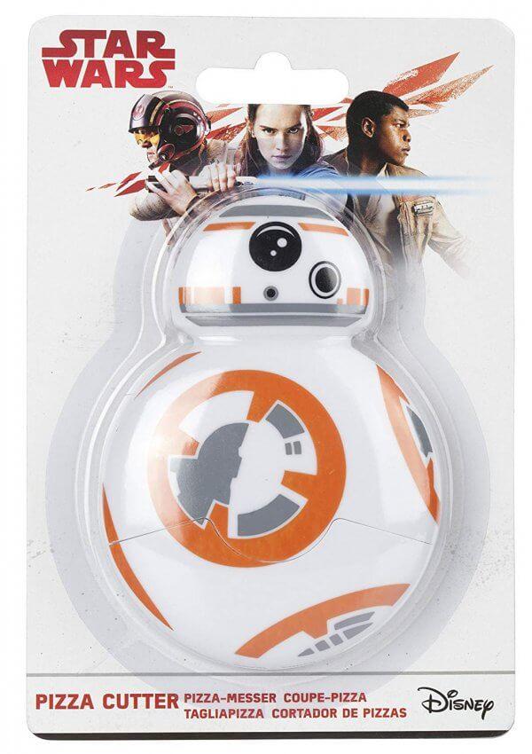 BB-8 Star Wars Pizzaschneider - Geschenk für Star Wars Fan - Geschenkidee für Mann